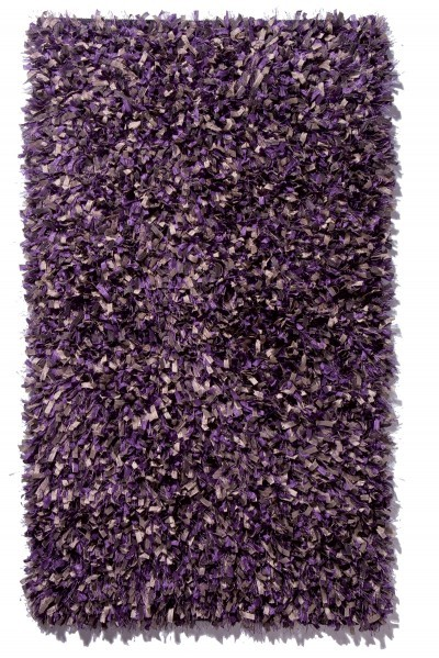 badteppich lila grau langflor star batex ebay. Black Bedroom Furniture Sets. Home Design Ideas