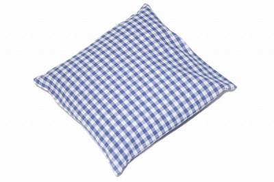 kissenh lle landhaus blau weiss karo oder streifen 40x40 ebay. Black Bedroom Furniture Sets. Home Design Ideas