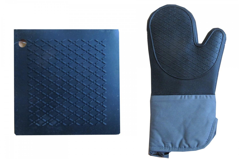 topflappen aus hitzebest ndigem silikon. Black Bedroom Furniture Sets. Home Design Ideas