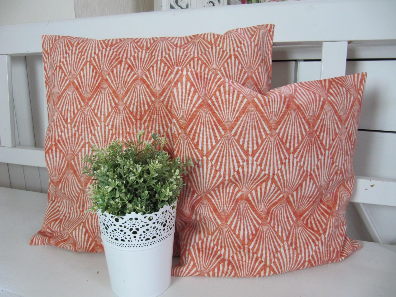 kissenh lle orange ethno grafik 40x40 oder 50x50. Black Bedroom Furniture Sets. Home Design Ideas