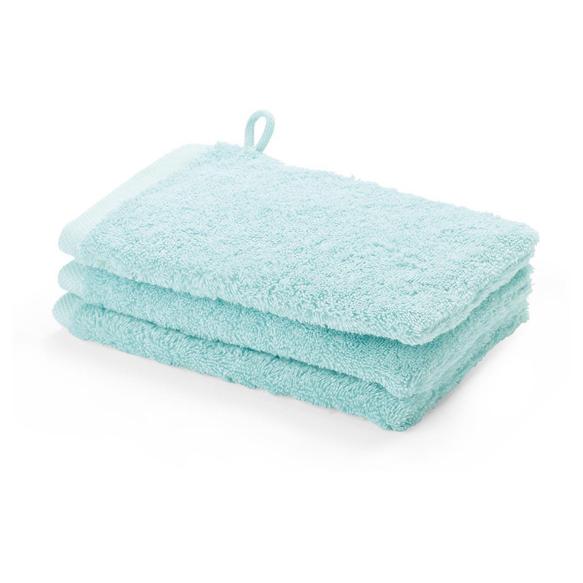 waschhandschuh 3er pack 16x22 london aquanova farbe mint. Black Bedroom Furniture Sets. Home Design Ideas