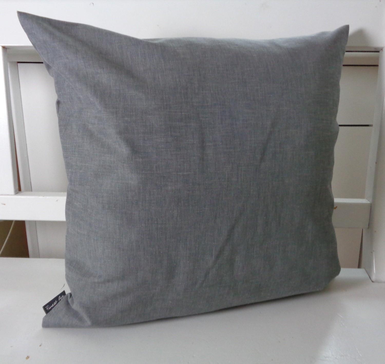 kissenh lle uni grau kombikissen 49x49 zu kissen hirsch. Black Bedroom Furniture Sets. Home Design Ideas