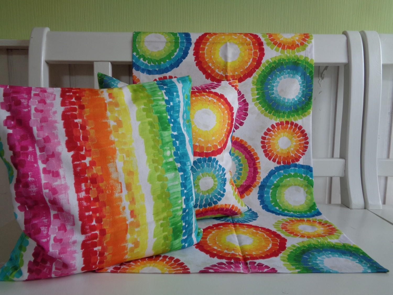 kissen kringel batikoptik regenbogenfarben 40x40 oder 50x50 ohne f llung. Black Bedroom Furniture Sets. Home Design Ideas