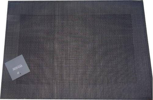 tischset anthrazit grau platzset abwaschbar. Black Bedroom Furniture Sets. Home Design Ideas