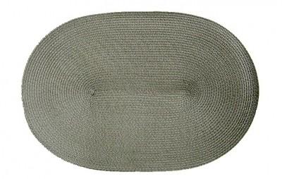 tischset grau oval geflochten platzmatte. Black Bedroom Furniture Sets. Home Design Ideas