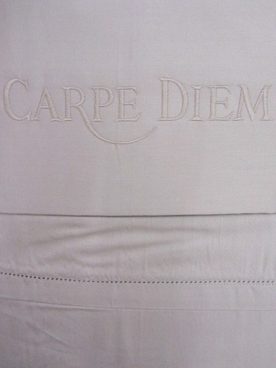 Bettw u00e4sche Beige Carpe Diem Aquanova 135×200