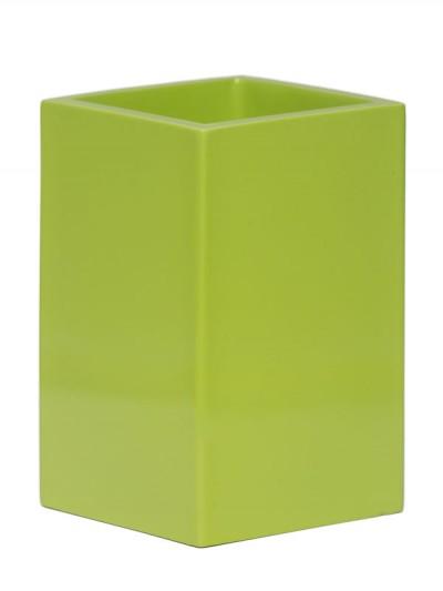 Zahnputzbecher Kosmetikstiftehalter Limette Grün Taco Aquanova