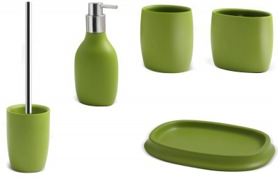 Bad accessoires grün  Zahnbürstenhalter Kosmetikstiftehalter Grün Olivia