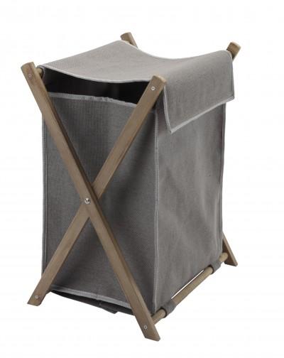 w schekorb w schesack grau mit holzgestell dali aquanova. Black Bedroom Furniture Sets. Home Design Ideas