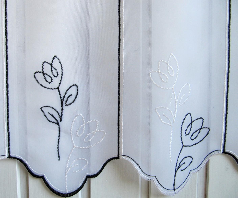 gardinen deko gardinen schwarz wei muster gardinen dekoration verbessern ihr zimmer shade. Black Bedroom Furniture Sets. Home Design Ideas