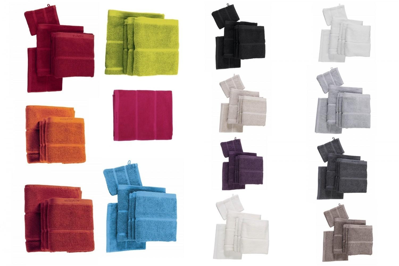 Gästehandtuch 30 x 50 Adagio Aquanova Baumwolle verschiedene Farben