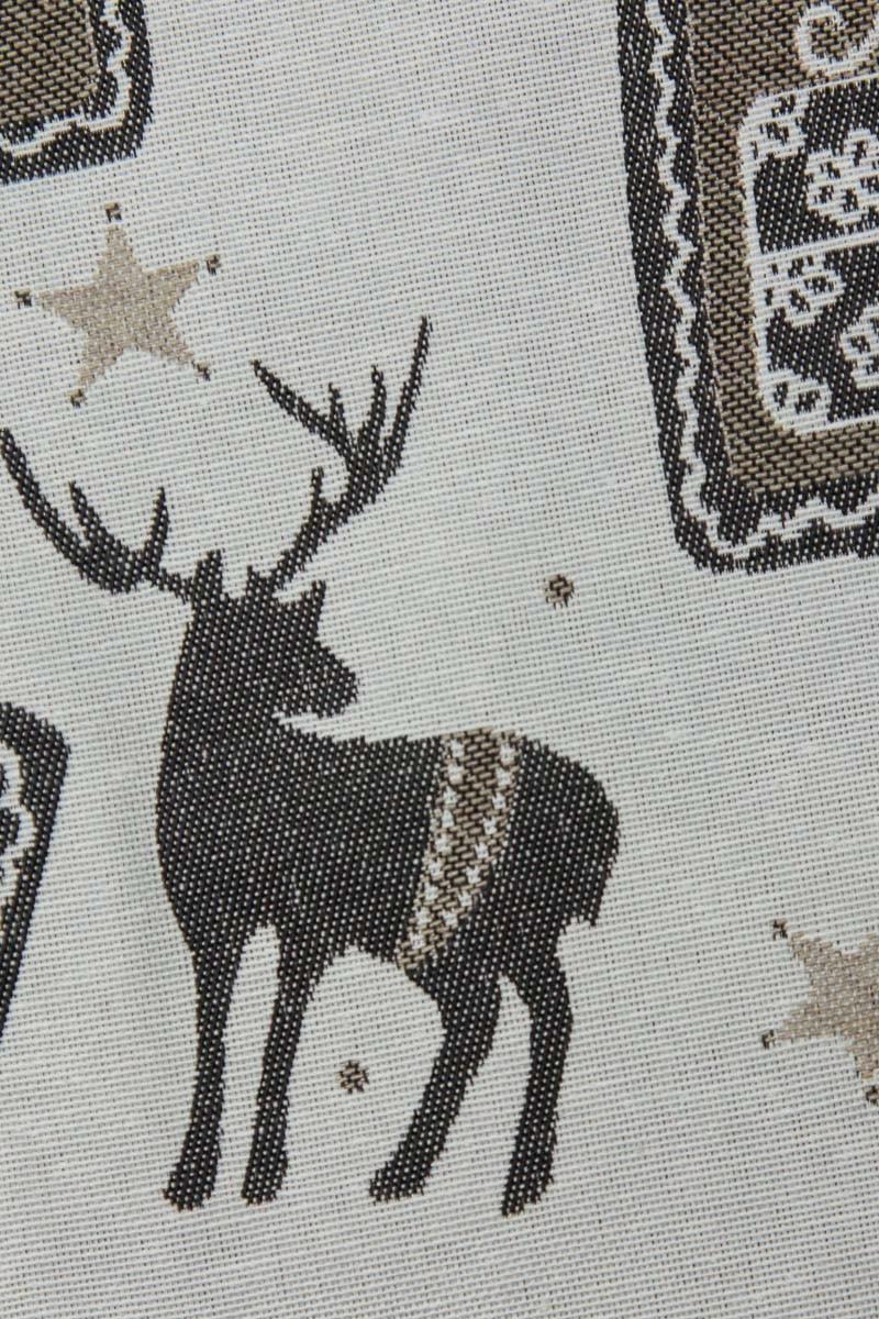 tischl ufer weihnachten rentier natur 50x150. Black Bedroom Furniture Sets. Home Design Ideas